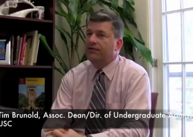 南加州大学招办介绍录取标准2