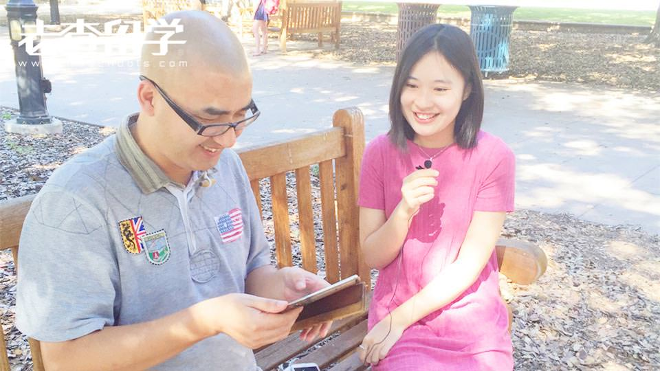 美国西方文理学院在读生Annie专访